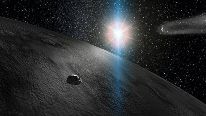 Ice Water And Organic Matter Found On Asteroid 24 Themis