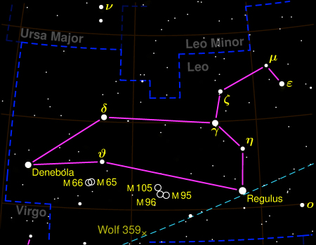 Star Constellation Facts: Leo, the Lion -