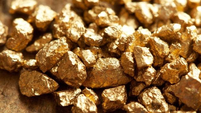 Did Gold Fall From Outer Space?