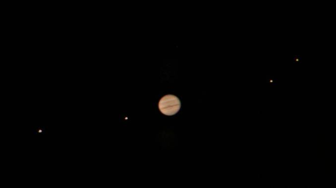 Jupiter and Jovian Moons