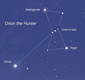 Sirius, the Dog Star