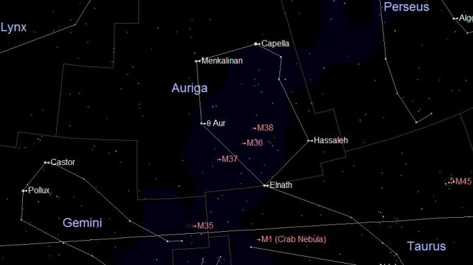 Star Constellation Facts: Auri...
