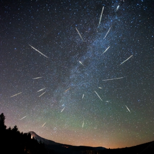 Perseid Meteor Showers