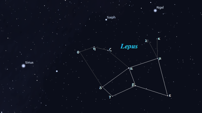 Constellation of Lepus