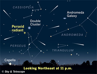 The Perseid Meteor Shower
