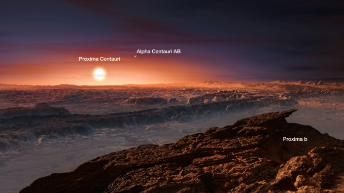 Earth-sized Planet Found Orbiting Proxima Centauri