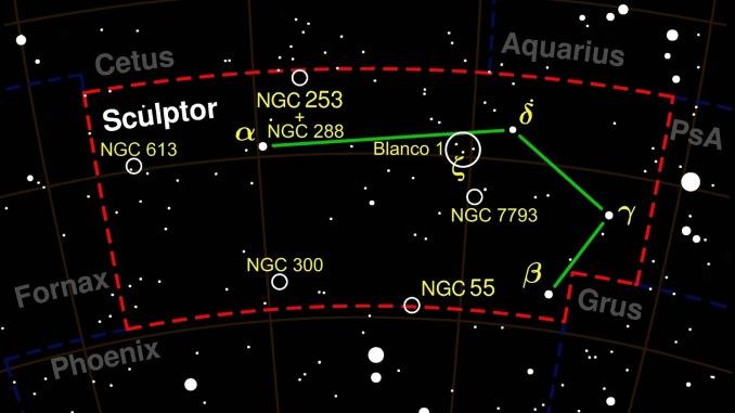 Star Constellation Facts: Sculptor