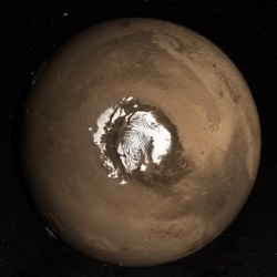 Martian North Pole