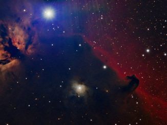 Altinak and the Flame and Horse Head Nebulae
