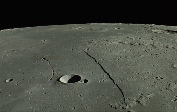 Rupes Recta (the Straight Wall)