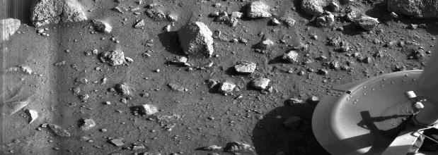 First picture of Mar's surface