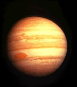 Pioneer 10 image of Jupiter