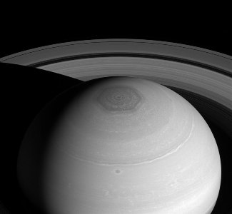 Saturn North Polar Hexagon