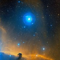 Sigma Orionis situated west of the Horsehead Nebula