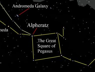Alpheratz star