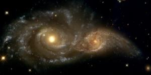 NGC 2207 and IC 2163