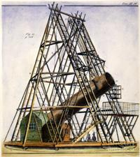 William Herschel's 40-foot Reflecting Telescope