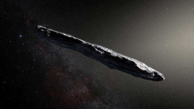 First Ever Interstellar Asteroid Confirmed