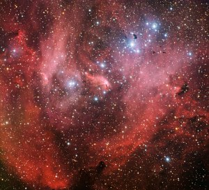 Running Chicken Nebula