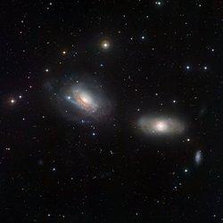 NGC 3169 and NGC 3166