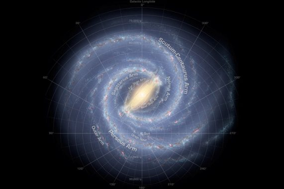 New Study Doubles the Milky Way's Diameter