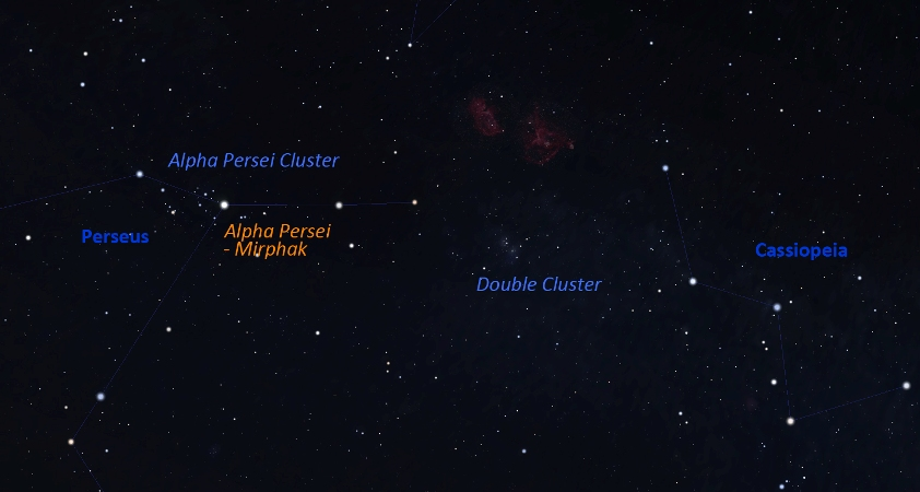 Three Star Clusters