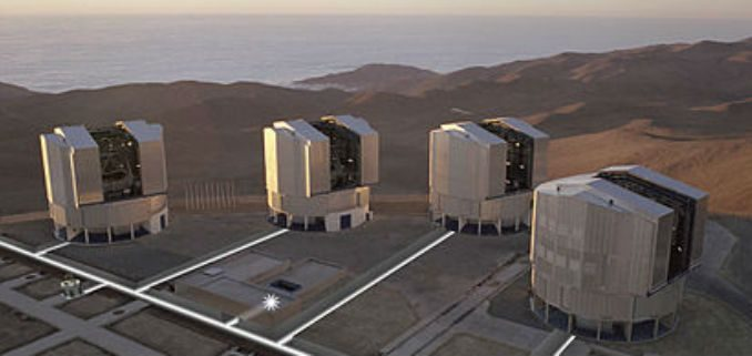Exoplanet Observed Using Light Combined From Optical Telescopes