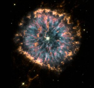 The Glowing Eye Nebula