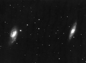 Galaxies M65 and M66