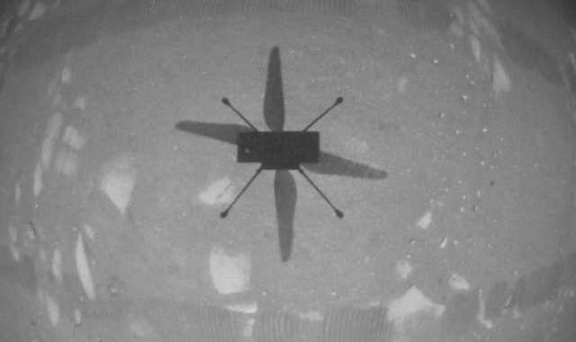 "NASA's Ingenuity ""helicopter"""