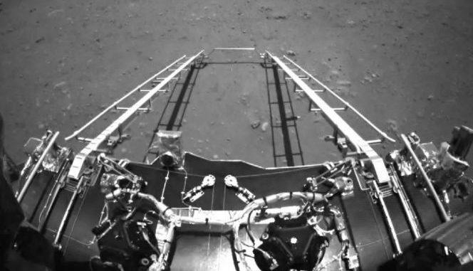 China's Zhurong Mars rover